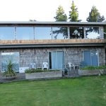 Recommended rooms lower level Tofino Swell Lodge