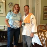 Innkeepers and chefs Pam and Larry Willis
