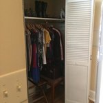 huge closets (this is only 1/2 the closet)