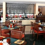 A view of the all day dining restaurant at Gateway, Agra