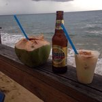 Beautiful views and delicious coco drinks called Pirata! For the price you can't go wrong ;)