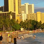 Right in the heart of Waikiki