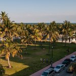 Lummus Park from Our Hotel Roof
