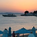 Agios Ioannis sunset from Hippie Fish