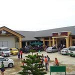 Desa dairy farm sabah. This building is where you can do shopping.