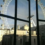 View of London Eye from 6th Floor Lobby