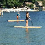 Paddle Boarding at Diamond Cove