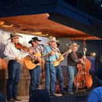 The Bar D Wranglers perform for us after our dinner.