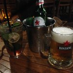 Bintang in an ice bucket, nice touch