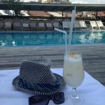 Pina Colada at Pool