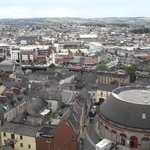 View of Cork City Centre from St Annes Tower