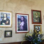 Various Mona Lisa's