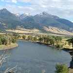View at the Yellowstone River