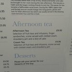 This was real price as on menu..we were told the Afternoon was £34 for 2 & bought a voucher for