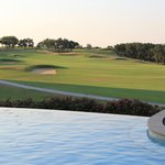 negative edge adult only pool over looking the TPC golf course
