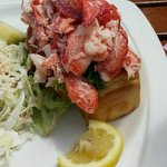 This is what I call a lobster roll!