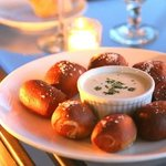 The homemade pretzels and fondue are nothing short of amazing