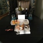 Great welcome amenities, thank you Kimpton
