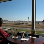 Lounge View of Airport Operations