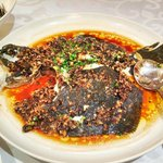 Steamed Turbot in Preserved Black Beans and Garlic Sauce - Delicious