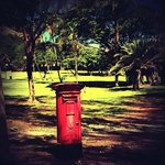 Pigeon Island post box