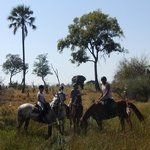 Foto de Macatoo Horseback Safari Camp
