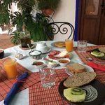 part of our beautiful breakfast
