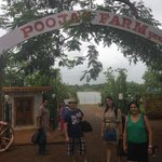 entrance to Pooja Farms