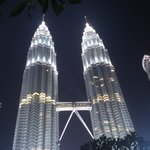 Magnificent Petronas Twin-towers a brisk walk.