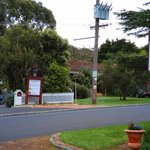 Registration across the street