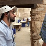 Our Guide, Tugrul at the Roman Home restoration