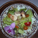 4th course, salad with hearts of palm, Gatsby dinner