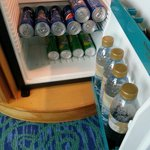 Our own stockpile of drinks bought from mall of emirates