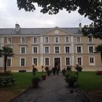 Front of the chateau xx