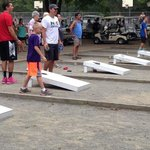 The big cornhole tournament!
