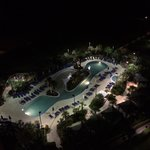 From 15th floor at night. Sand pool.