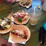 Delicious tacos! Especially the pork belly!!! Amazing and great flavor!