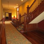 Staircase & Hall w/Great Woodwork!