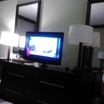 the tv in our room