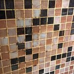 Mould on top of the tiles, not just in the grout