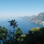 Amalfi Coast view from the top