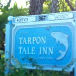 Tarpon Tale Inn sign