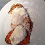Poached eggs on toast (delicious)
