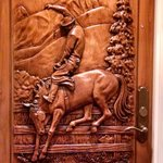 wort cowboy suite door