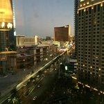 View of the Strip from our Suite