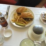 French dip from room service.. Yummy!