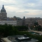 View from the room (St. Stephens Basilica)