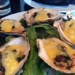 Oysters Rockefeller at the 525