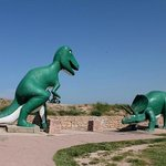 Dinosaur Park in Rapid City