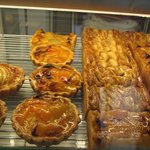 Fresh baked pastries and cakes